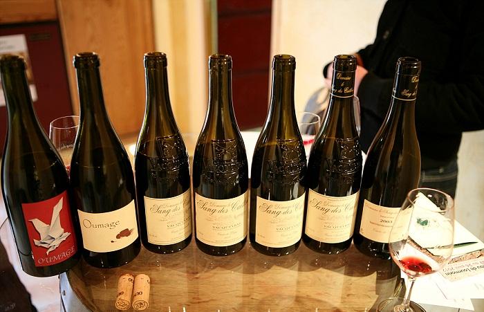 Vacqueyras Domaine le Sang des Cailloux 와인들 시음 (18).jpg